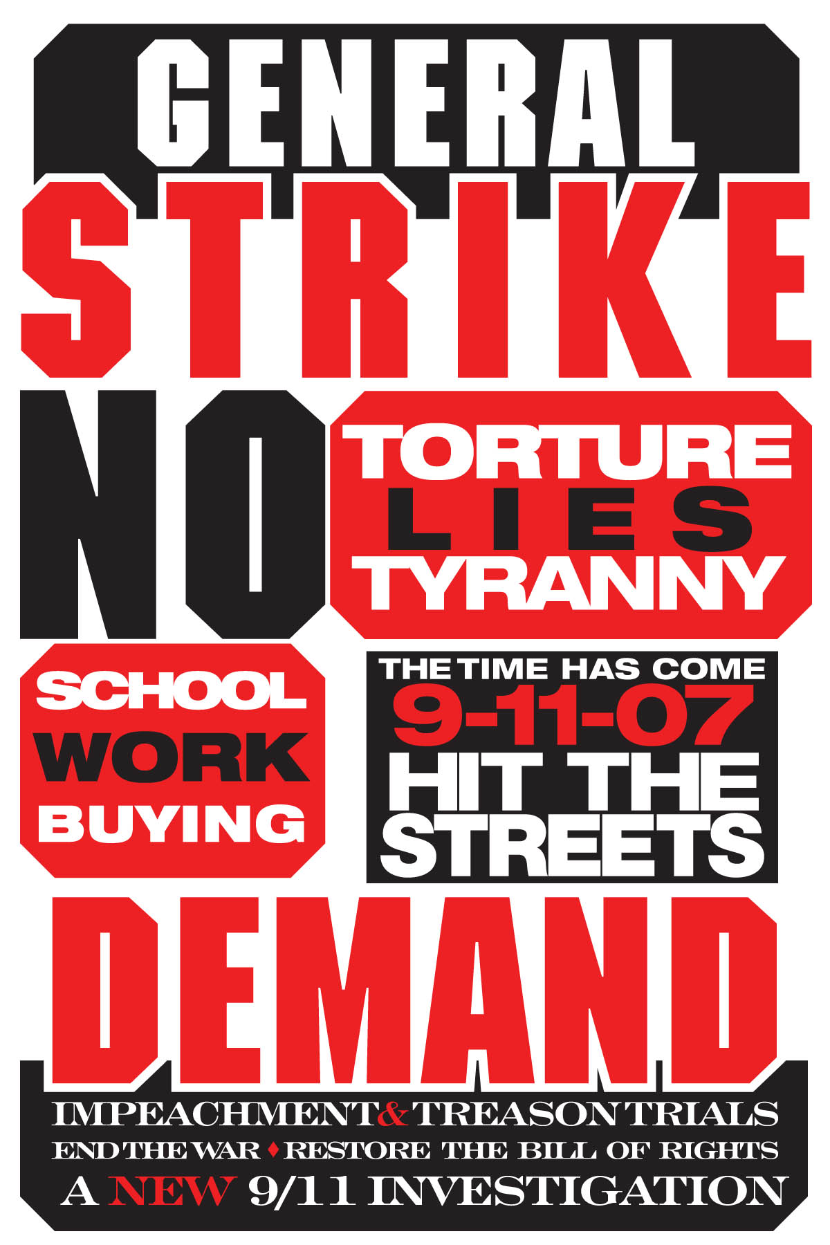 GENERAL STRIKE 9-11-07