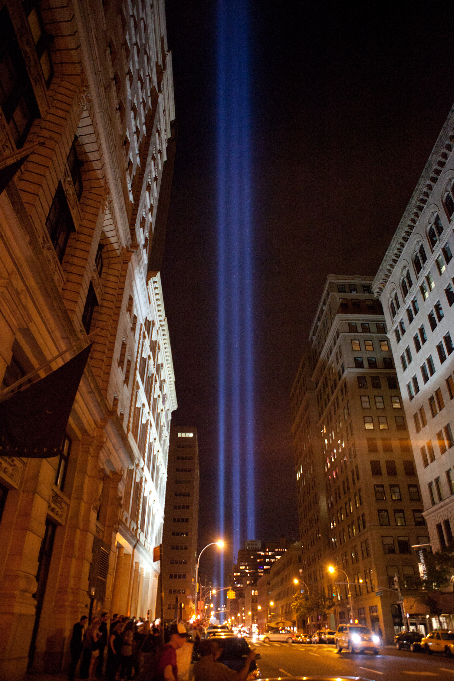 AE911Truth shines 3rd Beam into NYC skyline for WTC 7  911Bloggercom