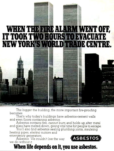WTC Asbestos Ad