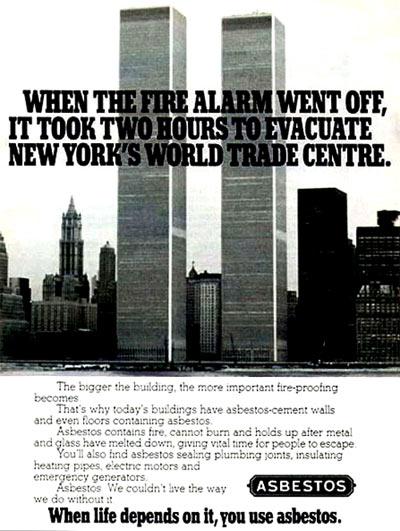 WTC Asbestos Ad