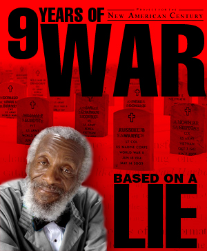 Dick Gregory on striving for the truth behind 9/11